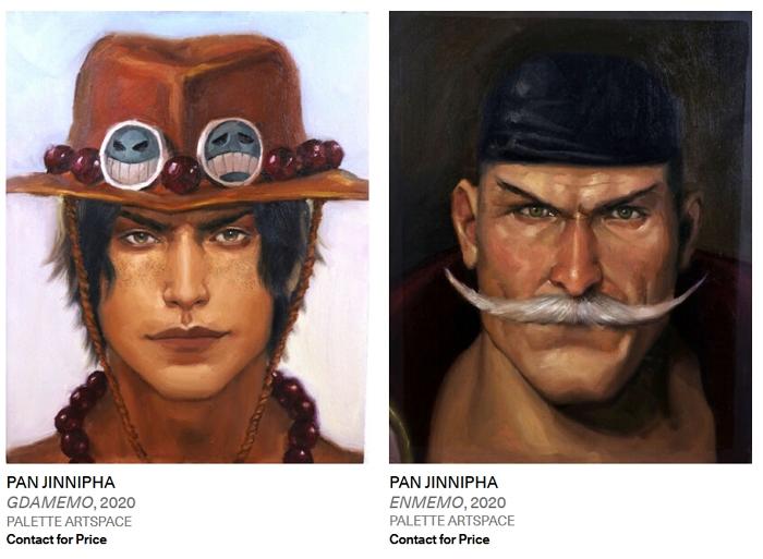 泰國女畫家為動漫中死去的角色舉辦肖像展,粉絲還能現場舉辦追思會