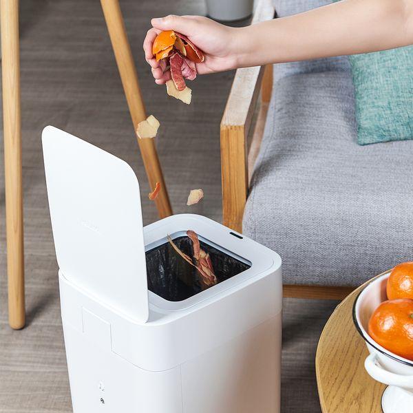 拓牛T1S智能垃圾桶,一鍵自動打包換袋、密封垃圾不沾手