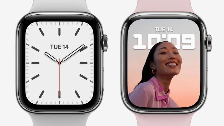 Apple Watch 7 規格增強:曲面螢幕增大20%、充電更快、五種新色、價格399美元