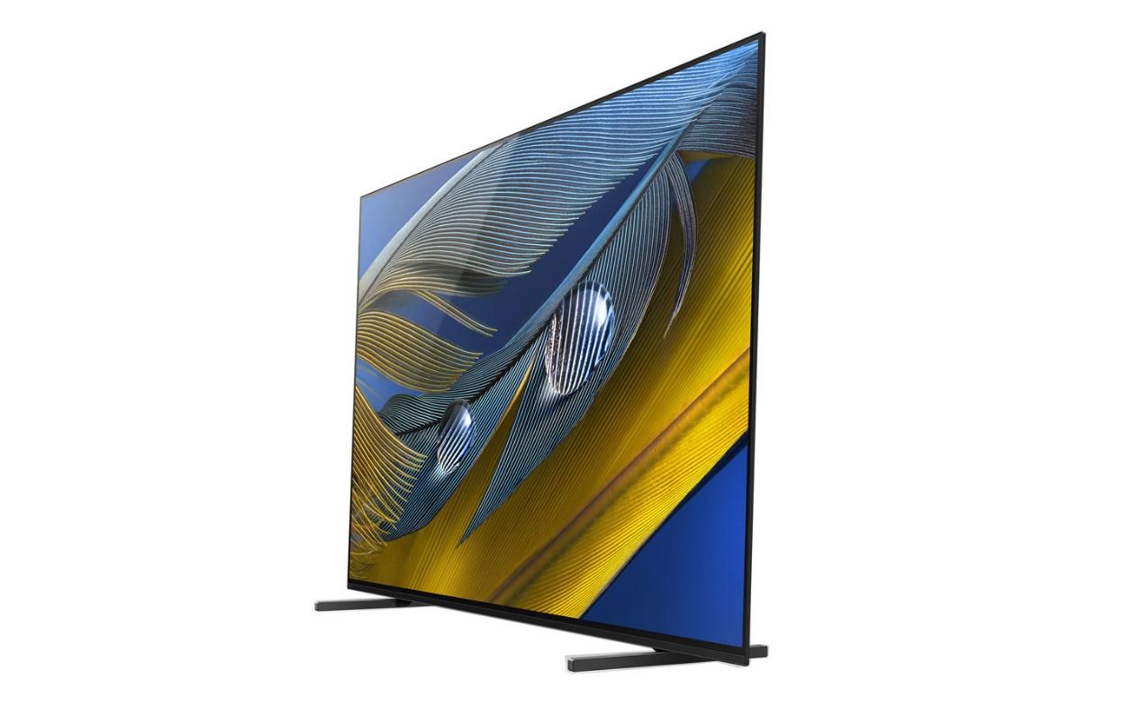 �載超薄型 OLED 面板的 XRM-65A80J 透過 XR Sound 技術的聲音定位功能,能完美配合畫面同�發聲,「平面聲場技術進階版」則讓面板以震動的形式發聲,將螢幕納入揚聲系統�的一環。