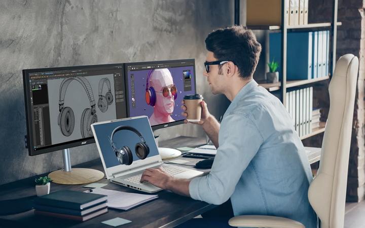 Acer ConceptD 7 SpatialLabs Edition 發表,專為創作者打造裸視 3D �電