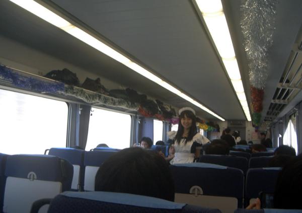 主人,想搭乘女僕電車嗎?3個多小時有吃又有玩